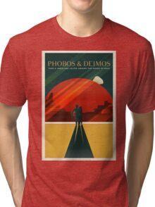 Phobos & Deimos Tri-blend T-Shirt