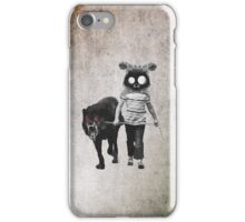 out for walk iPhone Case/Skin