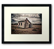 Outback School. Framed Print