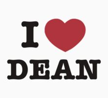 I heart Dean Winchester by Unicorn-Seller
