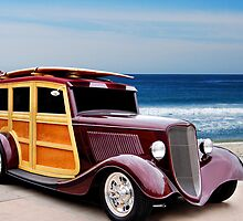 33 Ford Woody by WildBillPho
