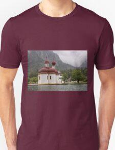 St. Bartholomew's Church and Königssee T-Shirt