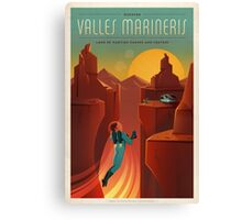 Valles Marineris Canvas Print