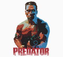 Predator - Arnie by Tim Willis