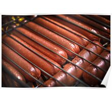 Labor Day Hot Dogs Poster