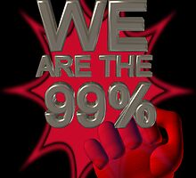 We are the 99% poster by Valxart