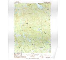 USGS TOPO Map New Hampshire NH Hillsboro Upper Village 329604 1987 24000 Poster