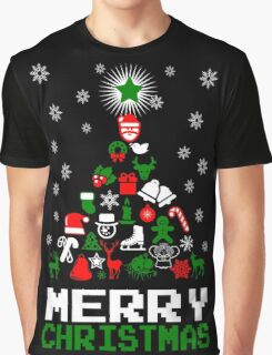 Ornament Merry Christmas Tree Graphic T-Shirt