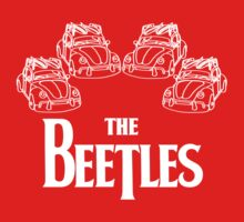 the beetles t-shirt Baby Tee