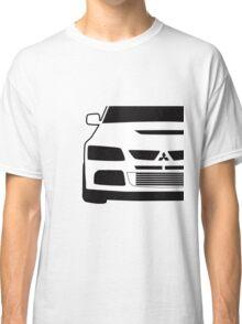 Mitsubishi Lancer Evo - Close Up Zoom Corner Sticker / Tee Design Classic T-Shirt