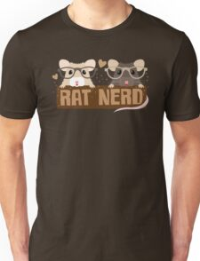 RAT NERD (Self proclaimed expert about RATS) Unisex T-Shirt