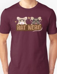RAT NERD (Self proclaimed expert about RATS) T-Shirt