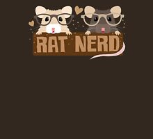 RAT NERD (Self proclaimed expert about RATS) Womens Fitted T-Shirt