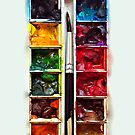 Artist Water Color Pallette apple iphone 5, iphone 4 4s, iPhone 3Gs, iPod Touch 4g case, Available for T-Shirt man, woman and kids by www. pointsalestore.com
