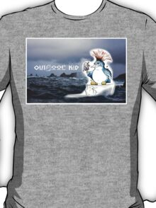 Outdoor Kid Penguin Punk T-Shirt