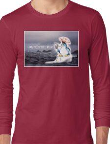 Outdoor Kid Penguin Punk Long Sleeve T-Shirt