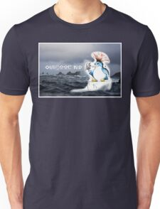 Outdoor Kid Penguin Punk Unisex T-Shirt