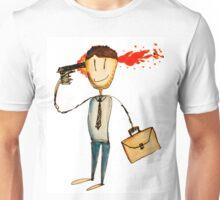 suicide no wave new wave frankie teardrop ghost rider Unisex T-Shirt