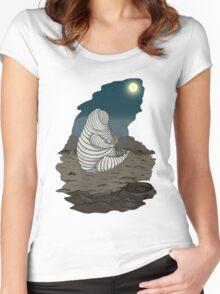 Per aspera ad astra Women's Fitted Scoop T-Shirt