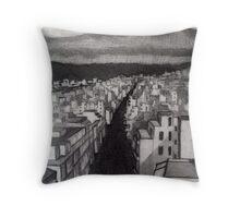 Void City Throw Pillow
