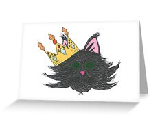Glamour Puss Greeting Card