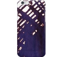 scruffily cross hatched iPhone Case/Skin