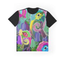 Hummingbird Masks Graphic T-Shirt