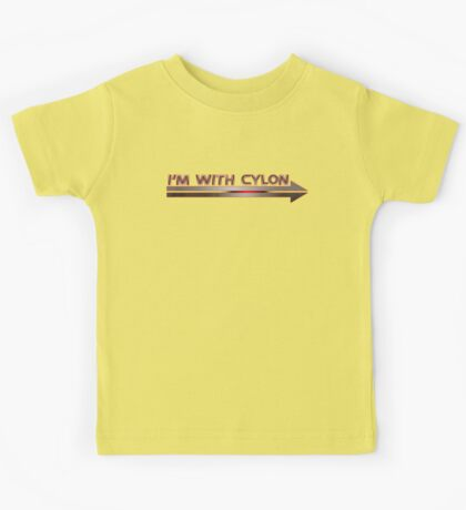 I'm With Cylon Kids Tee