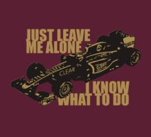 Kimi Raikkonen - Just Leave Me Alone (Dark Shirts) by oawan