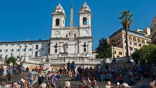 Piazza di Spagna by phil decocco