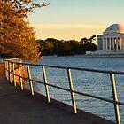 The Golden Jefferson Memorial by John D'Alessandro