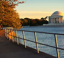 The Golden Jefferson Memorial by John D'Alessandro