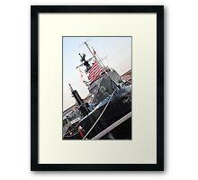 Battleships. Part II. Framed Print