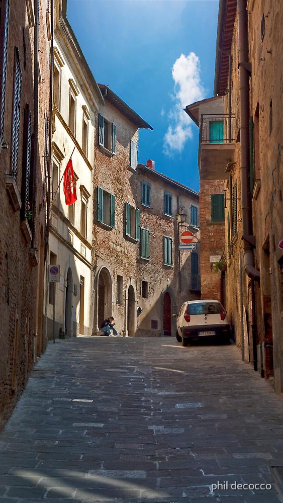 Strada A Senso Unico by phil decocco