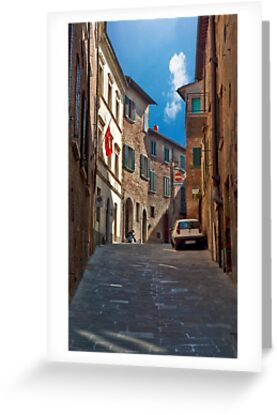 Strada A Senso Unico by phil decocco