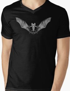 Vampire Bat Mens V-Neck T-Shirt