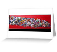 BANGLES Greeting Card
