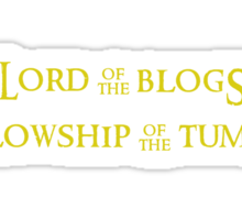 Lord of the Blogs Sticker