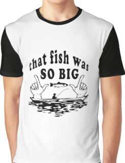 Fishing Joke Graphic T-Shirt