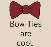 Bow-Ties Are Cool. by CreatingRayne