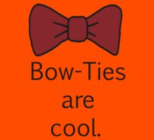 Bow-Ties Are Cool. Kids Clothes