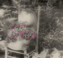 Serenity In The Garden by SmilinEyes
