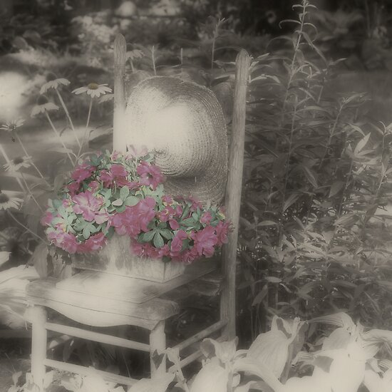 Serenity In The Garden by SmilinEyes