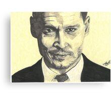 John Dillinger - Public Enemies Canvas Print