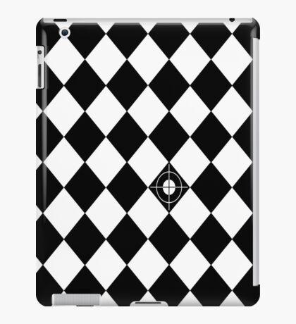 Random Target (B&W) iPad Case/Skin