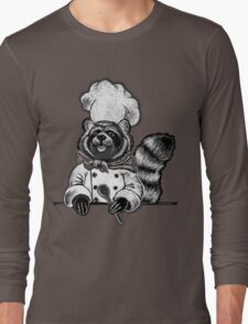 The Raccoonbear Diet Long Sleeve T-Shirt