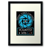 Aperture Volunteer Framed Print