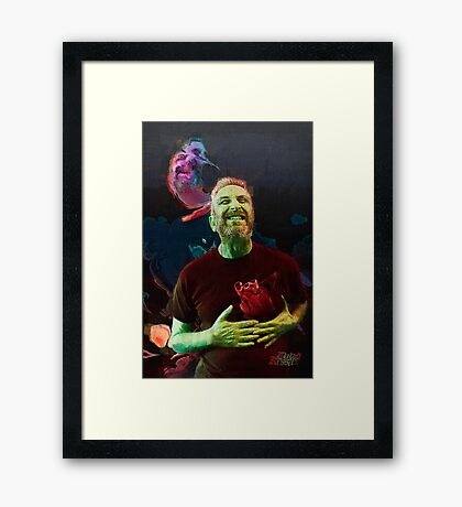 Tortured soul II Framed Print
