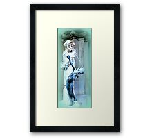 Brunnenbuberl am Stachus Framed Print