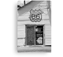 Route 66 - Bernie's Bar Canvas Print